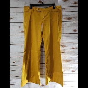 Delia*s Mustard Wide Leg Pants - Size 13/14S